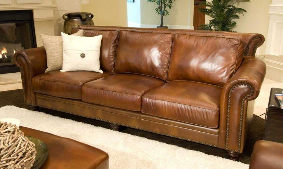 Sofas Center : Camel Colored Leather Sofa How To Style Pottery With Camel Color Sofas (Image 19 of 20)