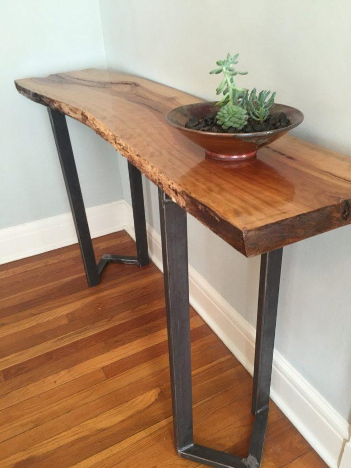 Sofas Center : Custom Sofa And Console Tables Artisan Designed Inside Cherry Wood Sofa Tables (Image 16 of 20)