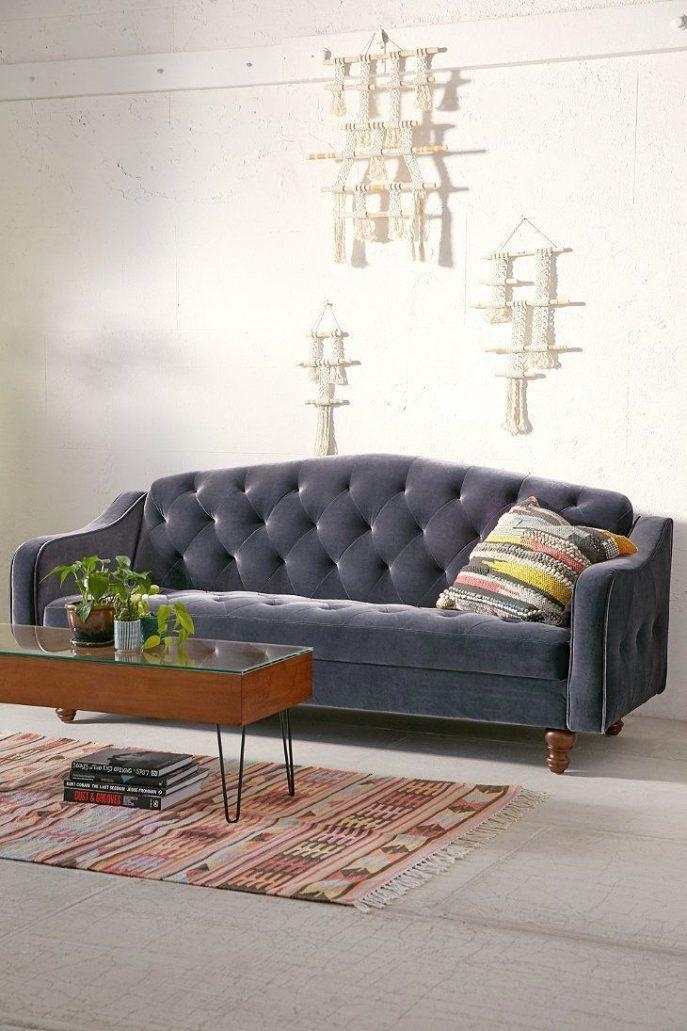 Sofas Center : Ergonomic Ava Velvet Tufted Sleeper Sofa 77 Ava Throughout Ava Velvet Tufted Sleeper Sofas (View 6 of 20)