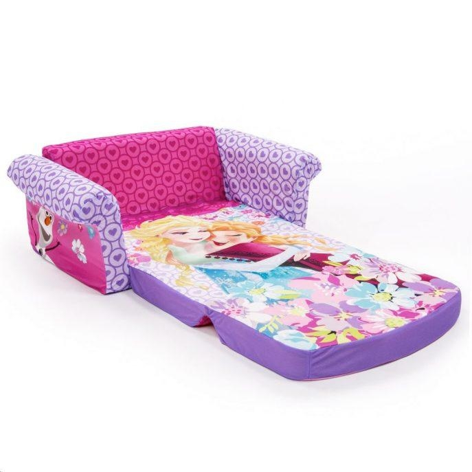 Sofas Center : Flip Open Sofa Frozen Kids Coverflip Walmart Disney In Disney Sofas (Image 12 of 20)