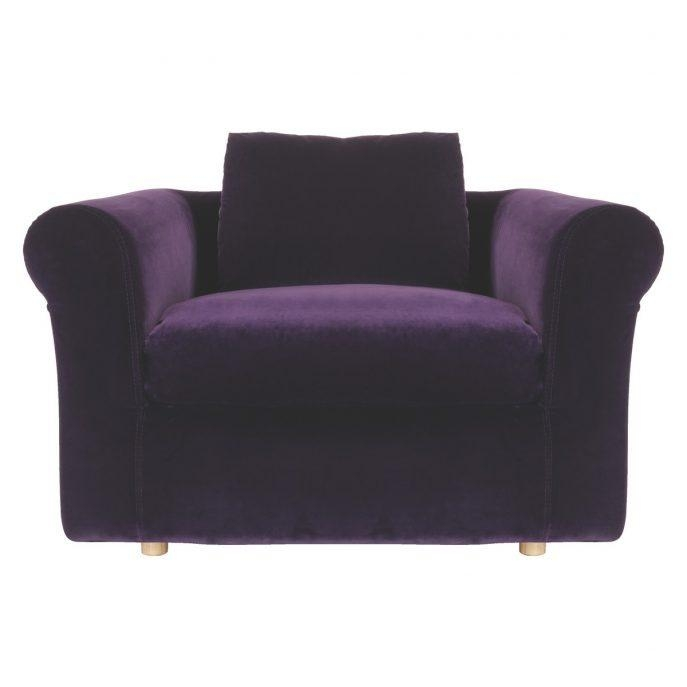 Sofas Center : Literarywondrous Single Sofa Chair Picture Ideas Regarding Slipper Sofas (View 15 of 20)