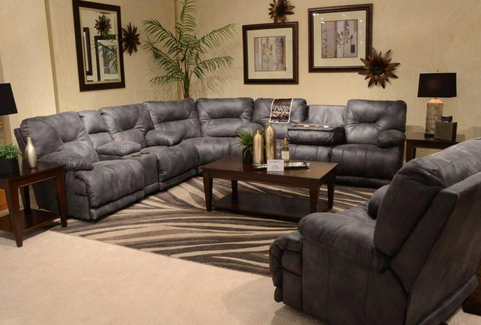 Sofas Center : Magnificent Reclining Sofa With Console Images With Regard To Sofas With Console (Image 14 of 20)