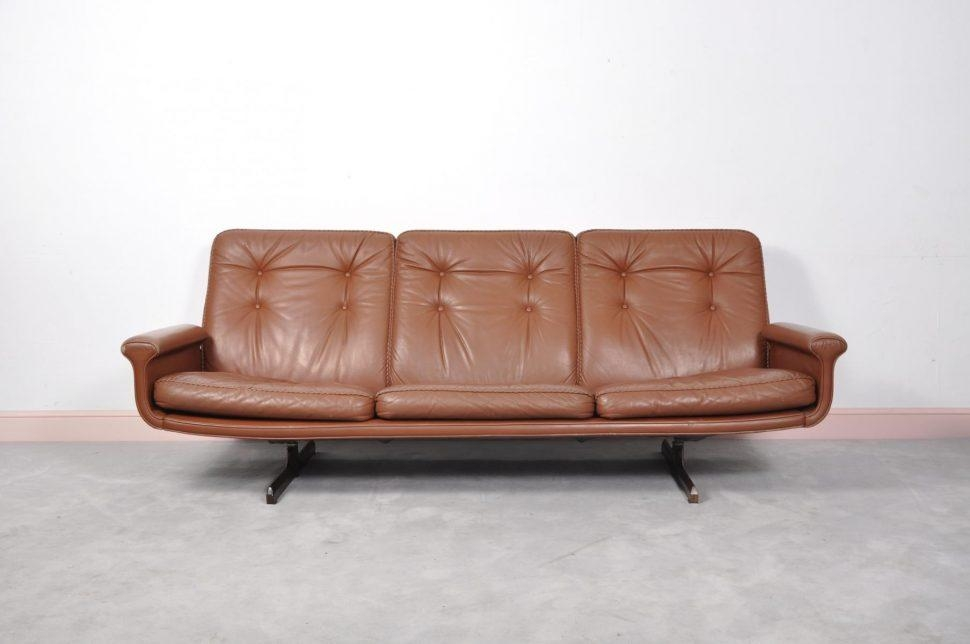 Sofas Center : Midy Modern Leather Sofa With Shaker Rosewood Legs In Shaker Sofas (Image 16 of 20)