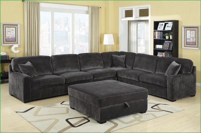 Sofas Center : Montereal Ash Ii Reversible Sectional Sofa Charcoal Inside Charcoal Gray Sectional Sofas (Image 20 of 20)