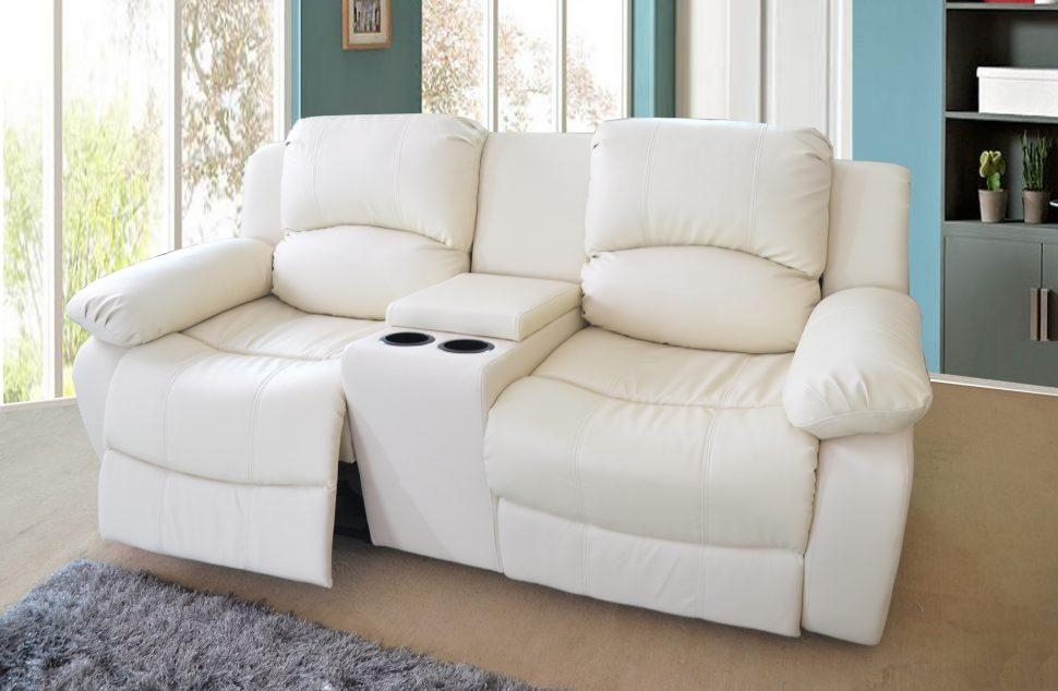 Sofas Center : Reclining Sofa With Center Console Double Recliner Pertaining To Sofas With Console (Image 16 of 20)