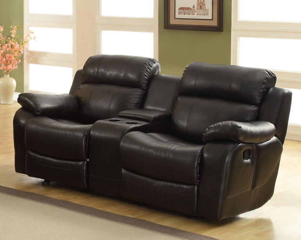 Sofas Center : Reclining Sofa With Console Double Center Power For Sofas With Console (Image 17 of 20)