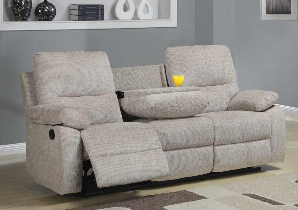 Sofas Center : Reclining Sofas With Consoles Dual Sofa Center Intended For Sofas With Console (Image 18 of 20)