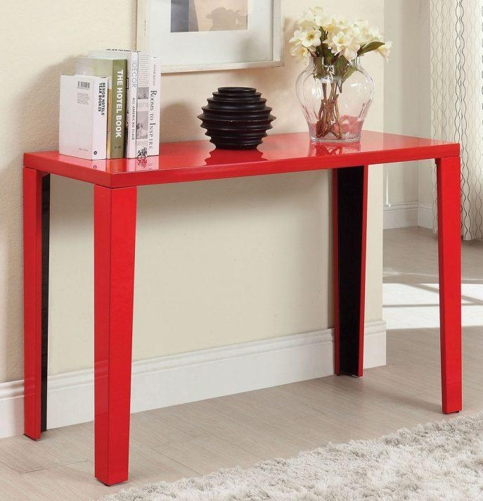 Sofas Center : Red Sofa Table New About Remodel Sofas And Couches For Red Sofa Tables (View 11 of 20)