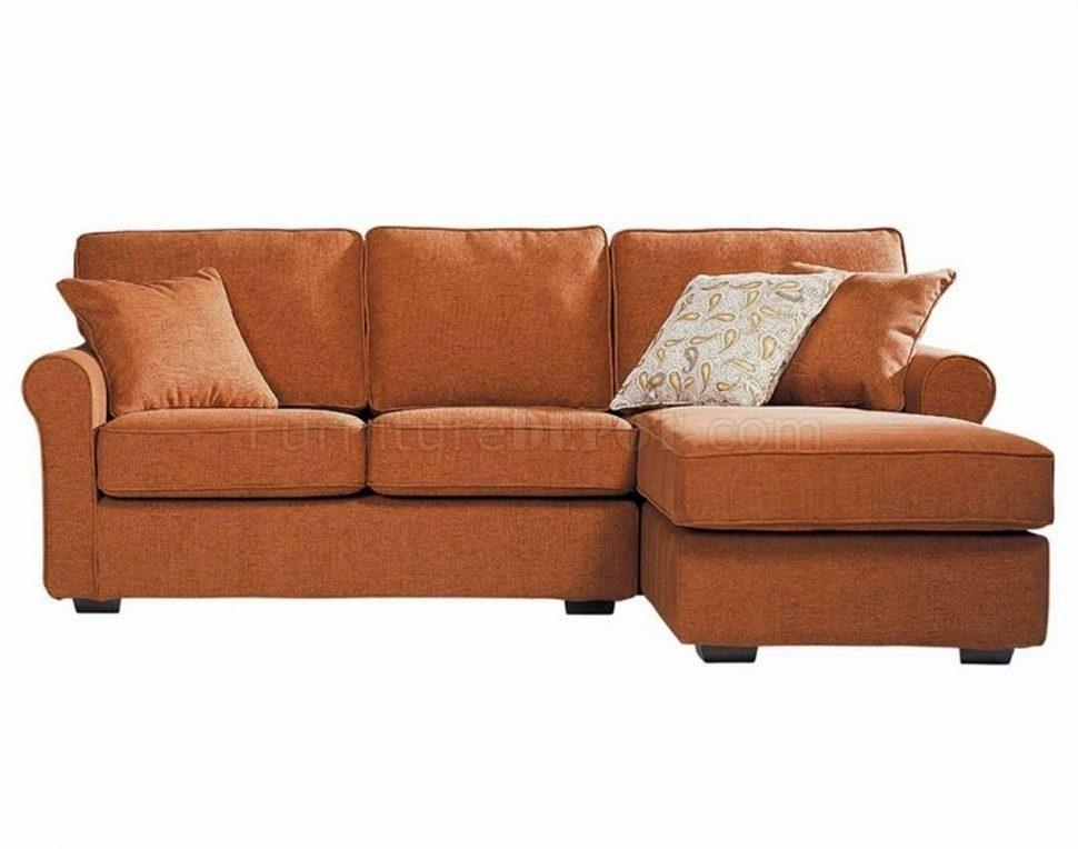 Sofas Center : Remarkable Orange Leather Sofa Photo Concept Image Throughout Burnt Orange Leather Sofas (View 15 of 20)