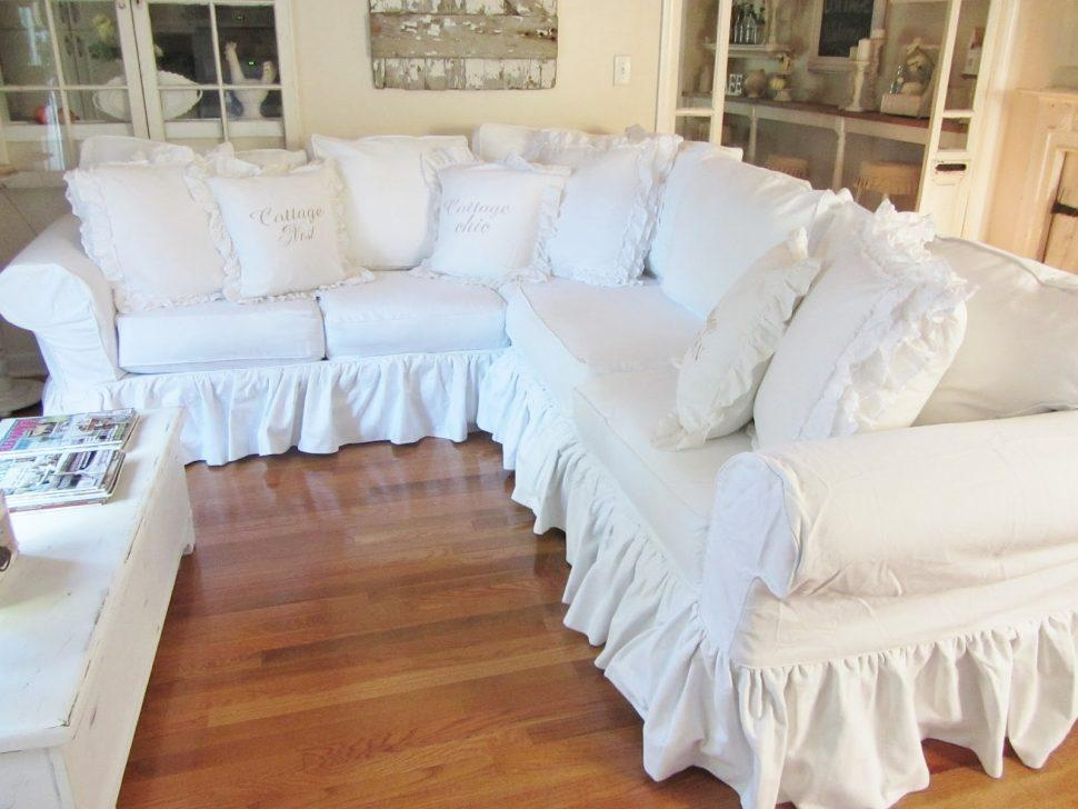 Sofas Center : Shabby Chic Slipcovers For Sofas Chenille Regarding Shabby Chic Slipcovers (Image 17 of 20)