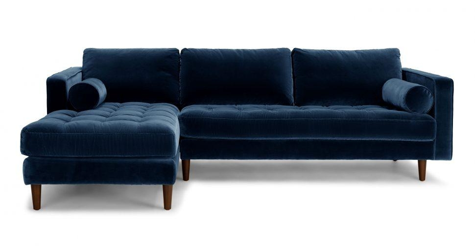 Sofas Center : Singular Blueofaectional Image Ideas Velvet Couches Throughout Blue Microfiber Sofas (Image 20 of 20)