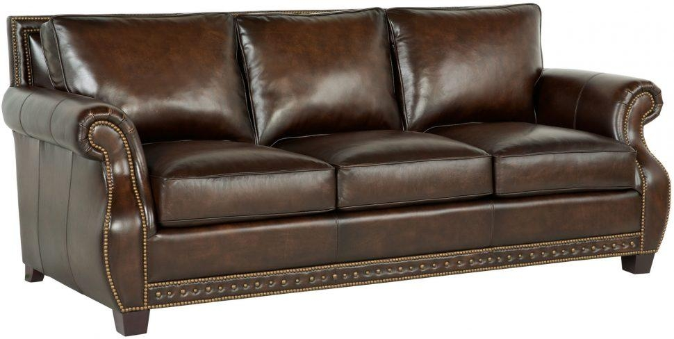 Sofas Center : Sofa Bernhardt Leather With Nailhead Trimbernhardt For Bernhardt Sofas (Image 19 of 20)