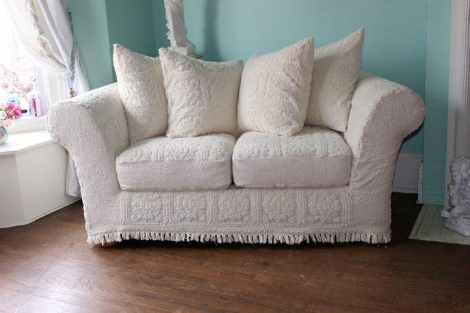 Sofas Center : Sofa Slipcover Etsy Shabby Chic Slipcovers Donna For Shabby Chic Sofa Slipcovers (Image 19 of 20)