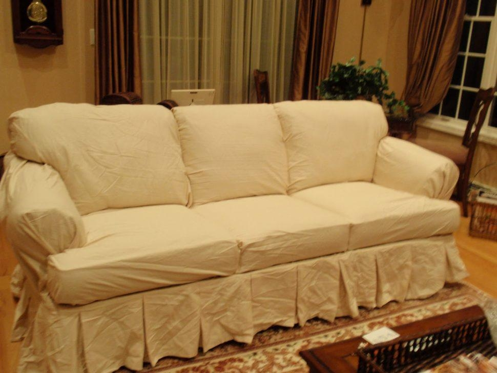 Sofas Center : Sofa T Cushion Slipcovers Separate Cushions Pertaining To T Cushion Slipcovers For Large Sofas (Image 12 of 20)