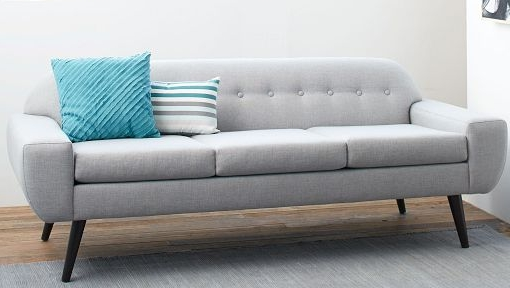 Narrow Sofas For Small Spaces Home The Honoroak