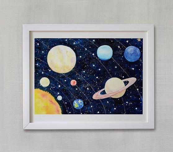 Solar System Wall Artminted® | Pottery Barn Kids With Regard To Solar System Wall Art (Image 17 of 20)