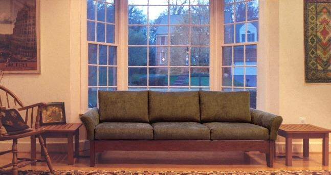 Southwestern/mission/arts & Crafts Style Sofas, Couches Throughout Shaker Sofas (Image 18 of 20)