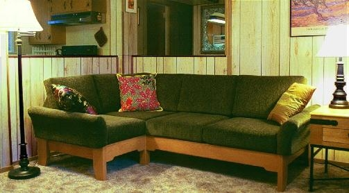 Space Saving, Small Sofas, Loveseats And Sectional Sofa Options Pertaining To Short Sectional Sofas (Image 20 of 20)