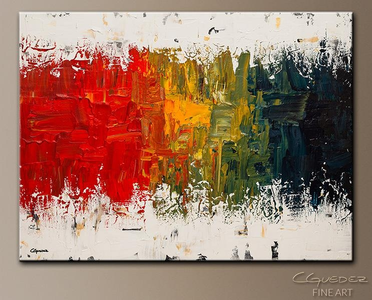Spectrum Abstract Art|Abstract Wall Art Paintings For Sale|Modern In Oversized Abstract Wall Art (View 5 of 20)