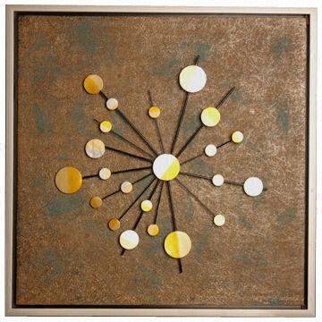 Starriness Wall Art Of Decorative Elements, Modern Style, Textured With Regard To Elements Wall Art (Image 15 of 20)