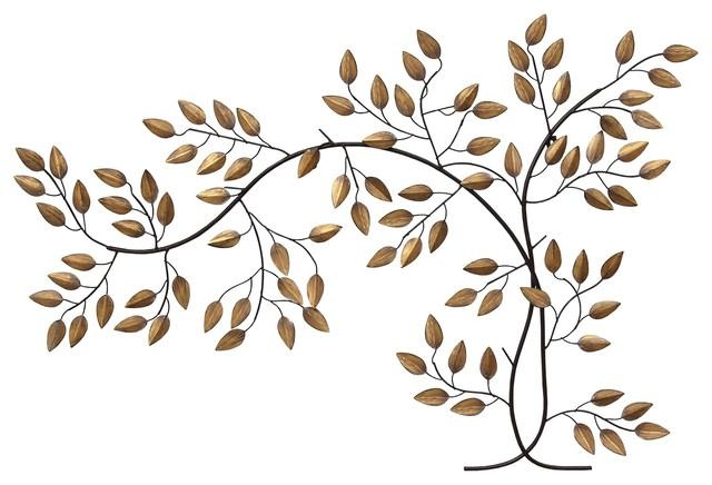 Stratton Home Decor Bronze Tree Branch Wall Decor – Contemporary Within Bronze Tree Wall Art (View 17 of 20)