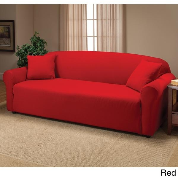 Stretch Sofa Slipcover – Free Shipping On Orders Over $45 Inside Stretch Slipcover Sofas (Image 8 of 20)