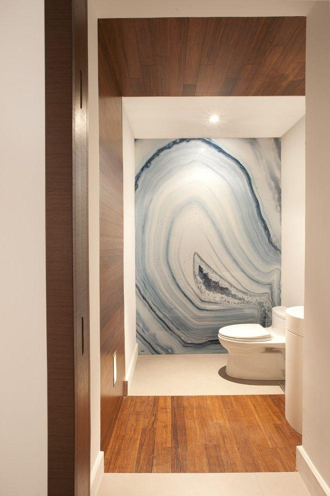 Stunning Wall Art Bathroom Contemporary With Miami Modern Modern In Contemporary Bathroom Wall Art (View 18 of 20)