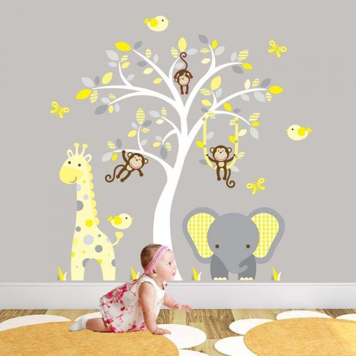Stunning Wall Art Stickers For Baby Nursery Inside Nursery Wall Art (View 15 of 20)