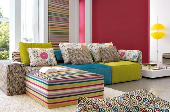 Stylish Modern Modular Sofa In Small Modular Sofas (Image 20 of 20)