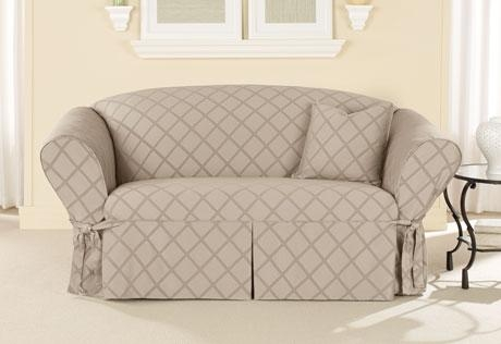 Sure Fit – Category Intended For Slip Covers For Love Seats (Image 13 of 20)