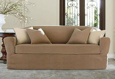 Sure Fit – Category Regarding Sofa And Loveseat Covers (Image 17 of 20)