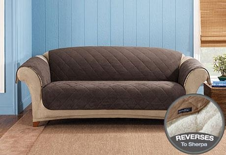 Sure Fit – Category Regarding Suede Slipcovers For Sofas (View 11 of 20)