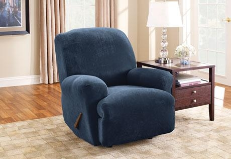 Sure Fit – Category Throughout Navy Blue Slipcovers (View 7 of 20)