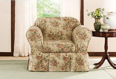 Sure Fit – Category With Floral Slipcovers (Image 19 of 20)