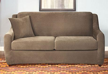 Sure Fit – Category With Regard To Sleeper Sofa Slipcovers (Image 14 of 20)