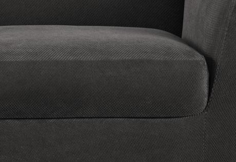 Sure Fit – Stretch Piqué 3 Seat Individual Cushion Sofa Covers Inside Individual Couch Seat Cushion Covers (Image 17 of 20)