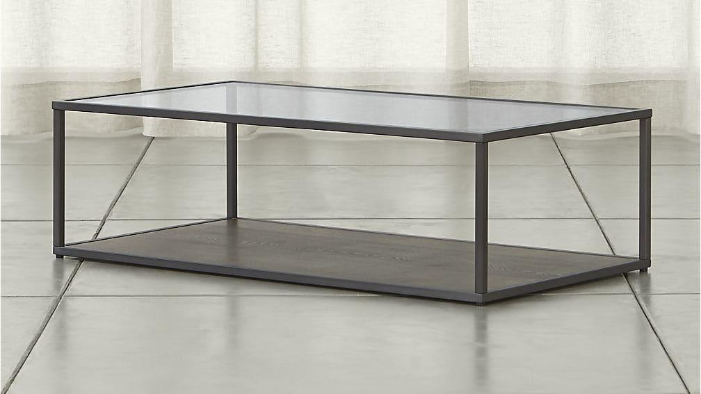 Switch Coffee Table | Crate And Barrel Throughout Crate And Barrel Sofa Tables (Image 19 of 20)