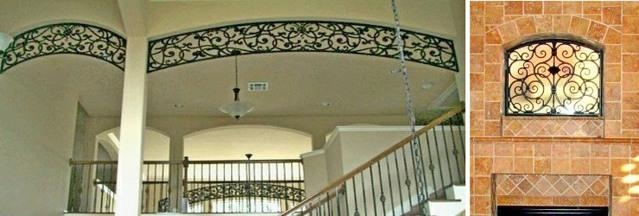 Tableaux Faux Iron| Creative Wrought Iron Look! Throughout Faux Wrought Iron Wall Decors (Image 14 of 20)