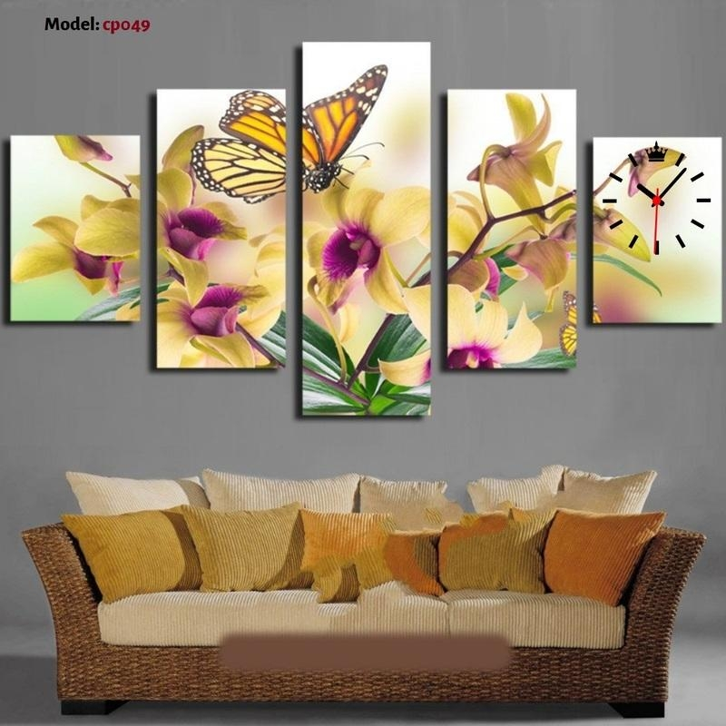 Teebaby Ventures Inside Butterfly Canvas Wall Art (Image 19 of 20)