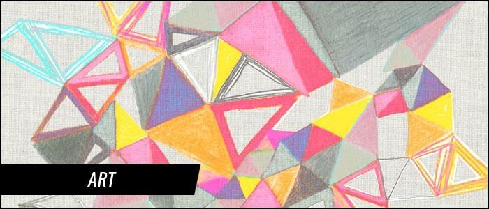 Teen Wall Art, Art For Teenagers Bedrooms | District17 Within Wall Art For Teenagers (View 5 of 20)