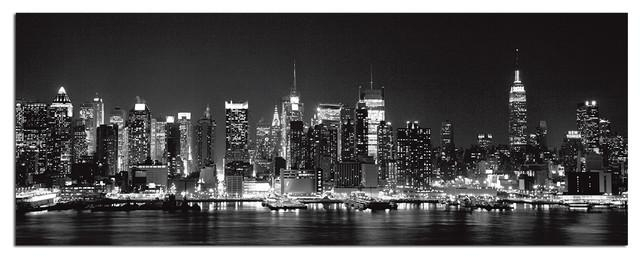 Tempered Glass Wall Art, New York City Skyline 1 – Traditional Within New York City Wall Art (Photo 1 of 20)