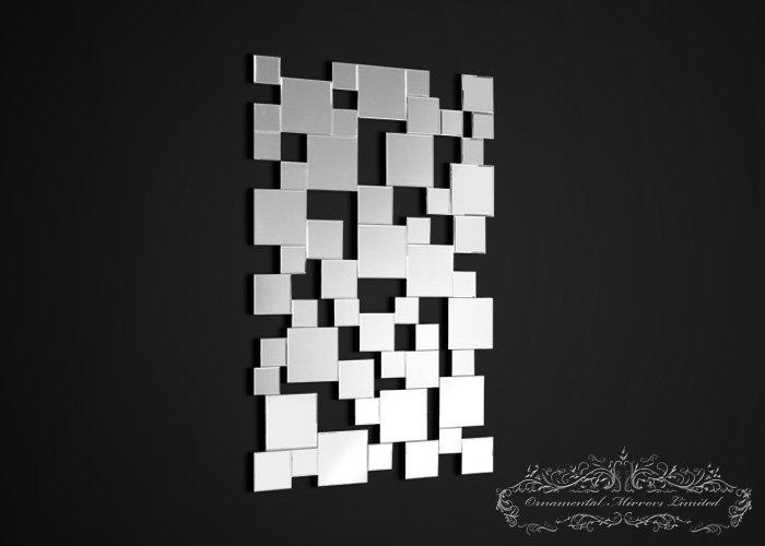 Tetra Contemporary Wall Mirror Intended For Wall Art Mirrors Contemporary (Image 10 of 20)