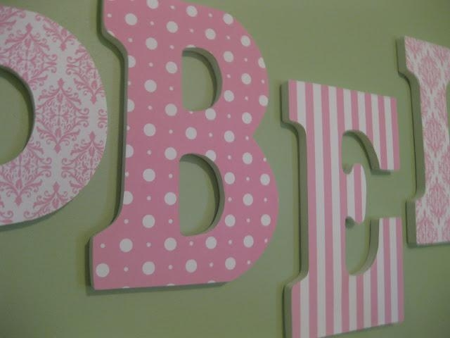 That Mommy Blog: Easy Baby Name Wall Art For Baby Name Wall Art (Image 17 of 20)
