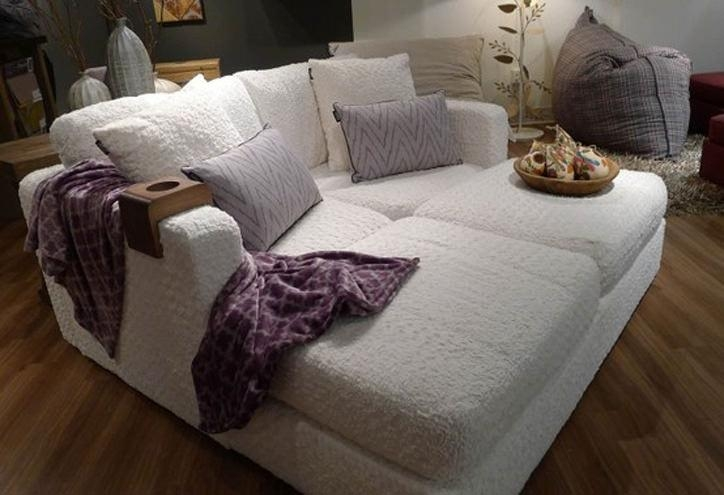 The #1 Best Airbnb And Vacation Rental Sofa – 1 Chic Retreat Within Lovesac Sofas (View 6 of 20)