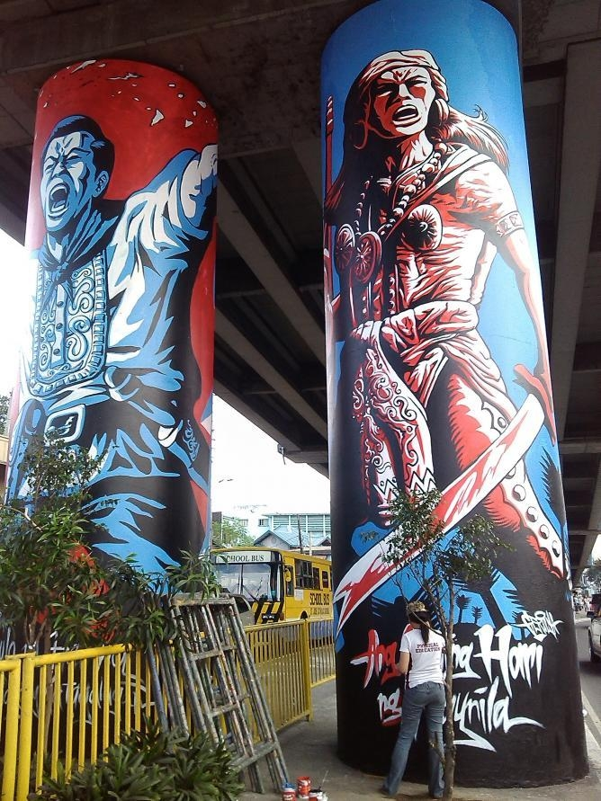 The 10 Best Places In Manila To See Street Art Inside Filipino Wall Art (Image 12 of 20)