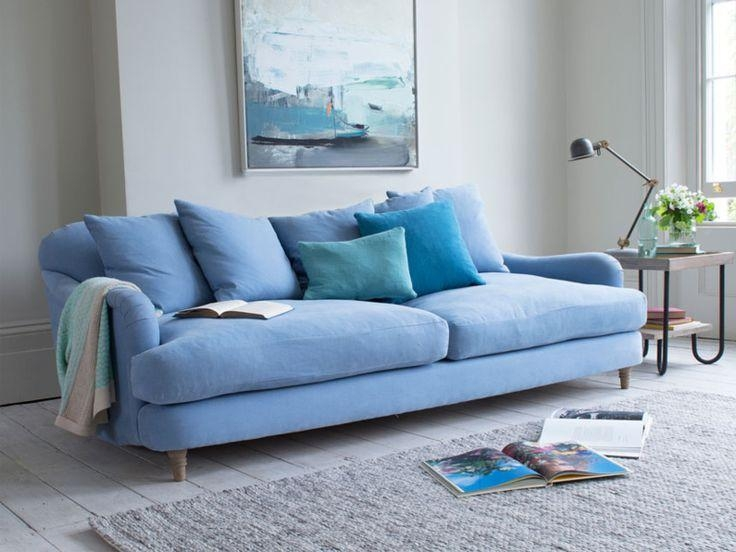 The 25+ Best Blue Sofas Ideas On Pinterest | Sofa, Navy Blue Pertaining To Blue Sofas (Image 20 of 20)