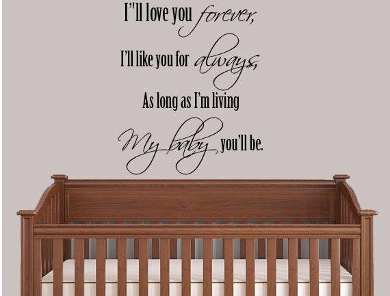 The 25+ Best Christian Wall Decals Ideas On Pinterest | Wall Decor Within Nursery Bible Verses Wall Decals (View 15 of 20)