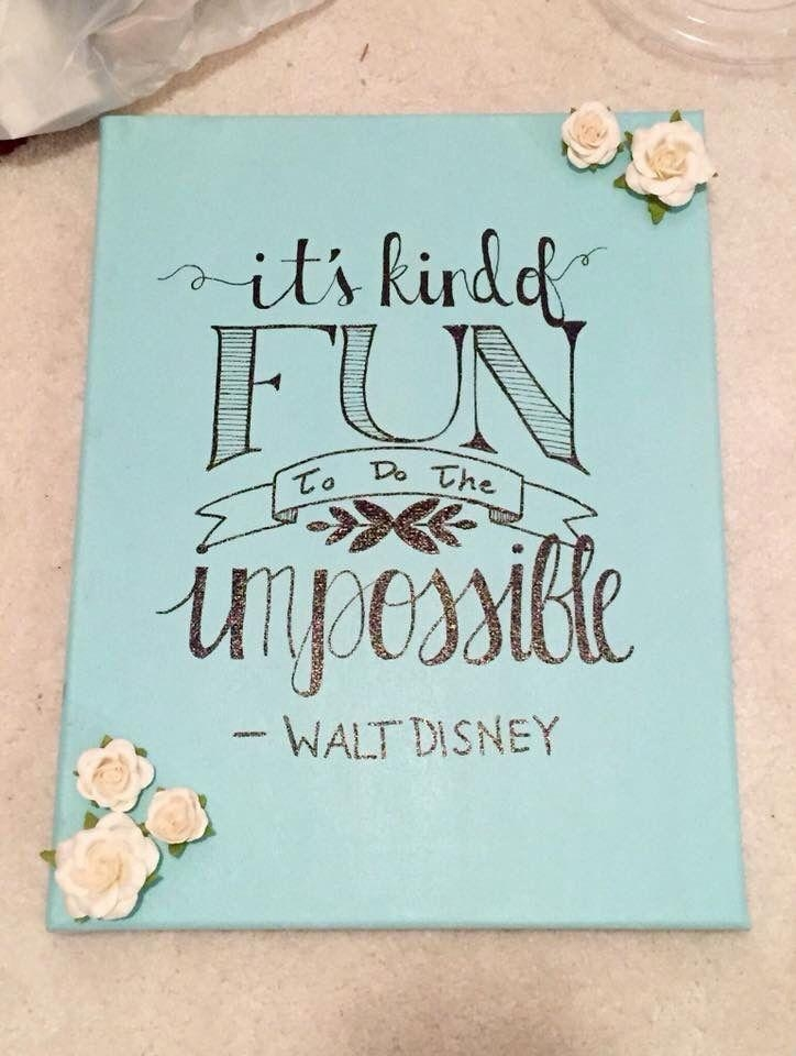 The 25+ Best Disney Canvas Ideas On Pinterest | Disney Paintings With Regard To Disney Canvas Wall Art (View 7 of 20)