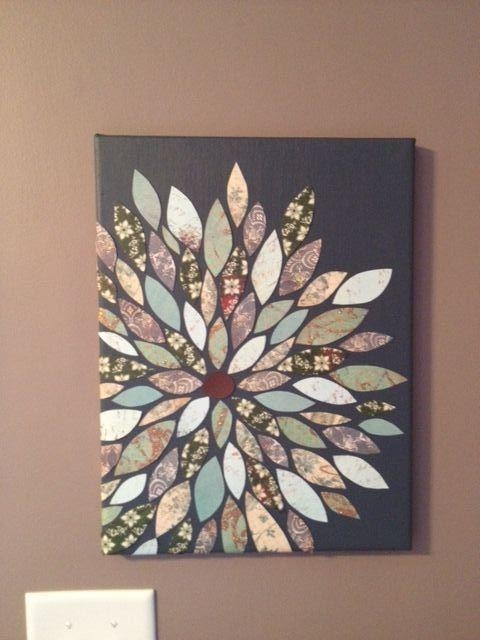 The 25+ Best Diy Wall Art Ideas On Pinterest | Diy Artwork, Diy Intended For Homemade Wall Art (View 13 of 20)