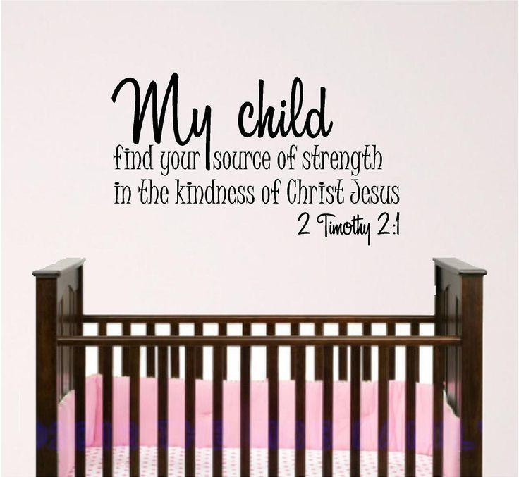 The 25+ Best Nursery Bible Verses Ideas On Pinterest | Scripture Throughout Bible Verses Wall Art (Image 17 of 20)